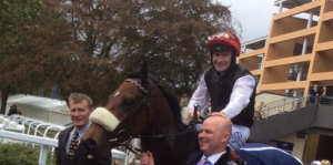 Pat Smullen and Forgotten Rules after WINNING at Ascot 7 to 2 adv